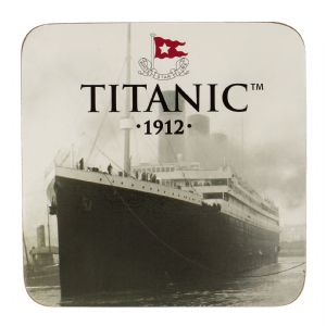 Titanic Licensed 1912 Collectors Drinks Coaster (sg)